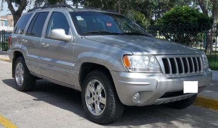 Jeep Grand Cherokee Limited                                       2004  a solo US$ 8.900