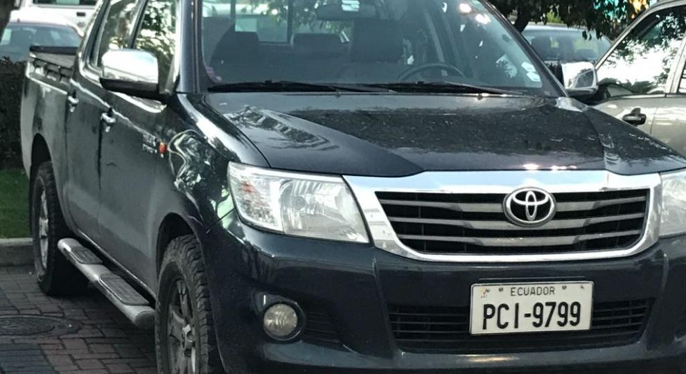 Toyota Hilux Cd 4x2 2017 Quito