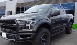Ford F Raptor Svt