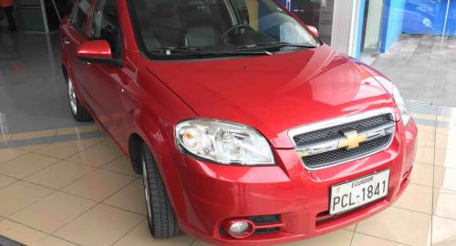 Chevrolet Aveo Emotion Advance 2015 Sedn En Quito Pichincha