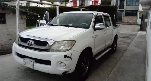 25b767cb9 Toyota Hilux CD 4x2 2009 Camioneta Doble Cabina en Tulcán, Carchi-Comprar  usado en PatioTuerca Ecuador