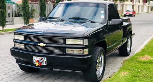 Chevrolet Silverado 1994 Camioneta Cabina Y Media En