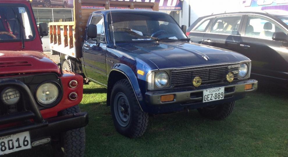 Toyota Stout 1981 Camioneta Cabina Simple En Ibarra
