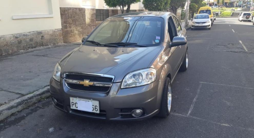 Chevrolet Aveo 2015 Sedn En Quito Pichincha Comprar Usado En