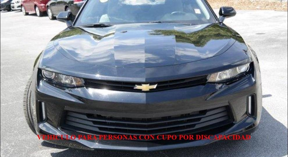 Chevrolet camaro 2016 coup en cuenca azuay comprar usado for Filtro cabina camaro 2016