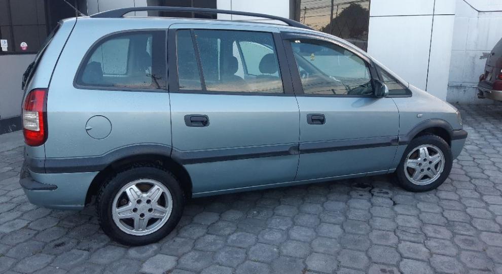 Chevrolet Zafira 2003 Mini Van Mpv En Quito Pichincha Comprar