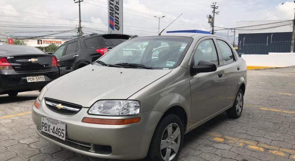 Chevrolet Aveo Family 2010 Sedn En Quito Pichincha Comprar Usado