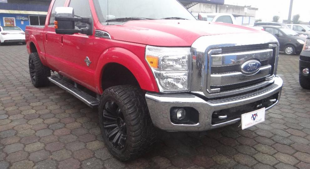 Ford F 350 Super Duty 2012 Camioneta Doble Cabina En Santo