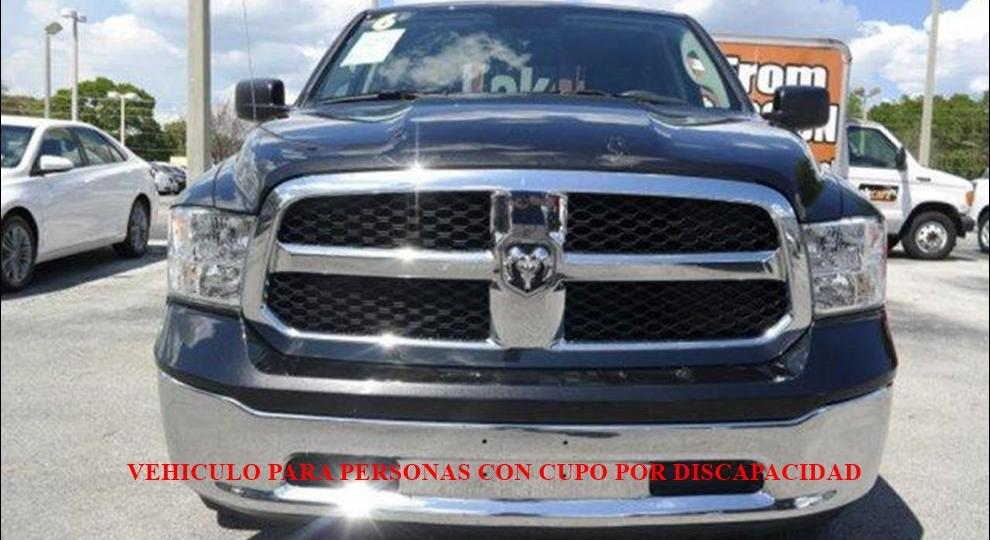 Dodge Ram 1500 2016 Camioneta Doble Cabina En Cuenca