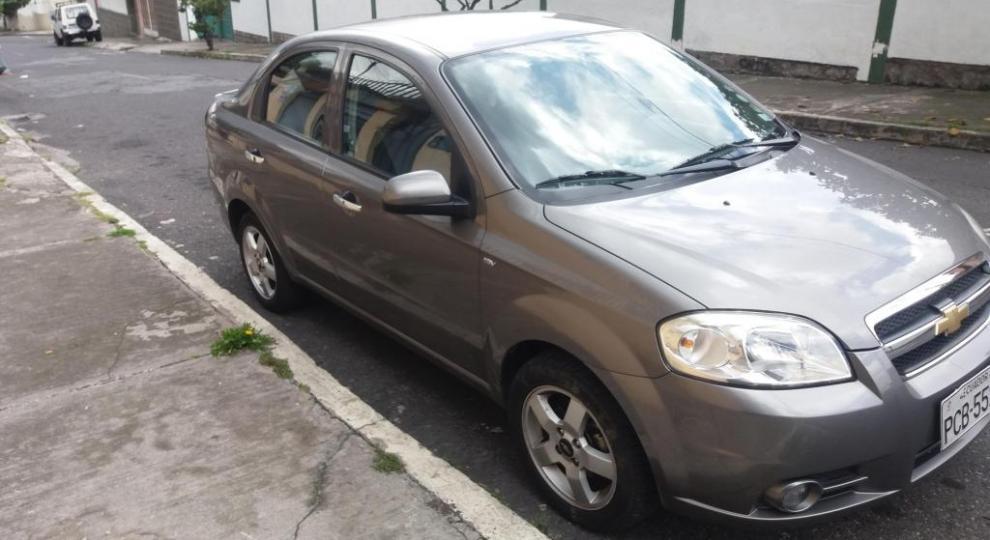 Chevrolet Aveo 2013 Sedn En Quito Pichincha Comprar Usado En