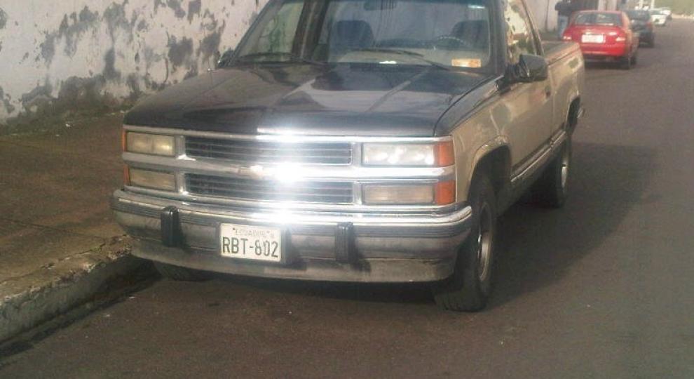 Chevrolet Pick Up 1995 Camioneta Cabina Simple En Quito