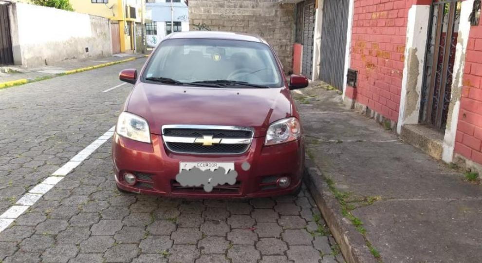 Chevrolet Aveo 2017 Sedn En Quito Pichincha Comprar Usado En