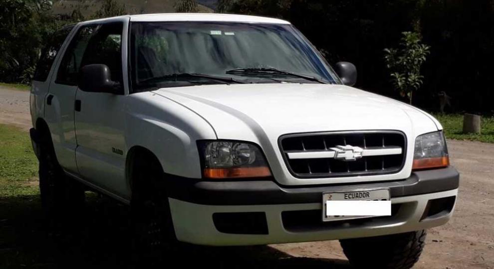Chevrolet Miniblazer 2002 Todoterreno En Quito Pichincha