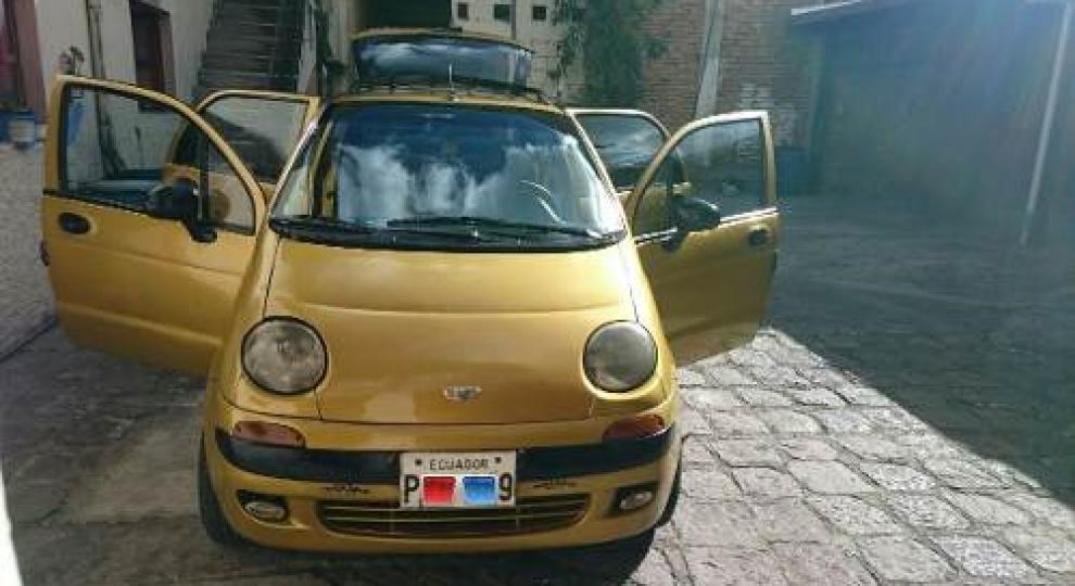 daewoo matiz 2001 hatchback 5 puertas en quito pichincha comprar usado en patiotuerca ecuador. Black Bedroom Furniture Sets. Home Design Ideas
