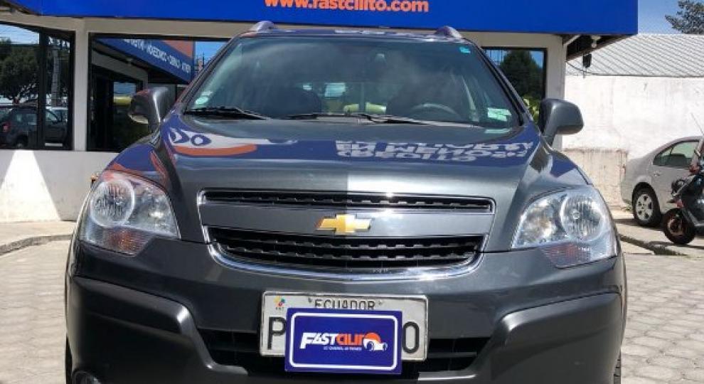 Chevrolet Captiva 2012 Todoterreno En Quito Pichincha Comprar Usado