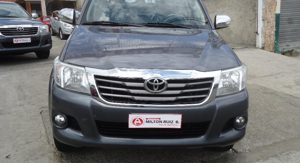Toyota Hilux Cd 4x4 2014 Camioneta Doble Cabina En Ambato