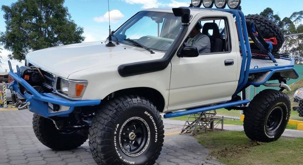 Toyota Hilux Cs 4x4 1992 Camioneta Cabina Simple En Quito