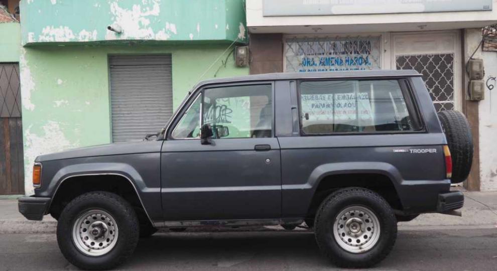 Chevrolet Trooper 3p 1989 Todoterreno En Riobamba Chimborazo