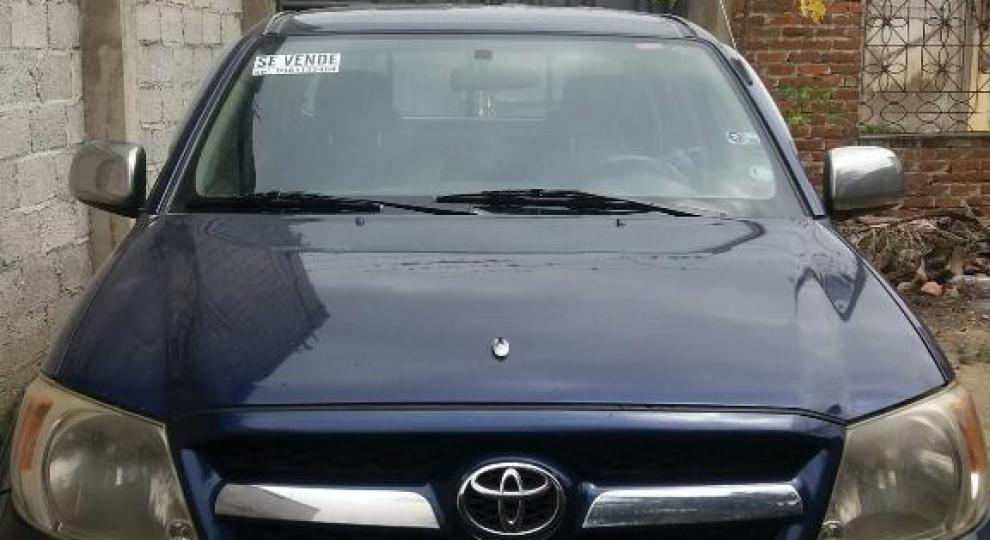 toyota hilux sr5 2008 camioneta doble cabina en santa rosa el oro comprar usado en patiotuerca. Black Bedroom Furniture Sets. Home Design Ideas