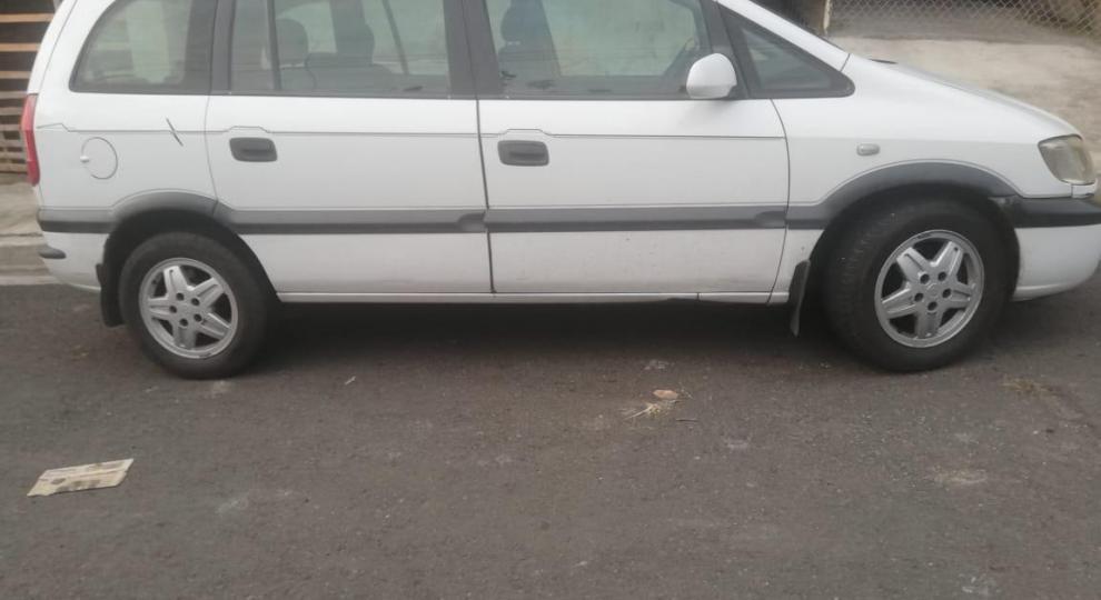 chevrolet zafira 2003 mini van (mpv) en guayaquil, guayas-comprar