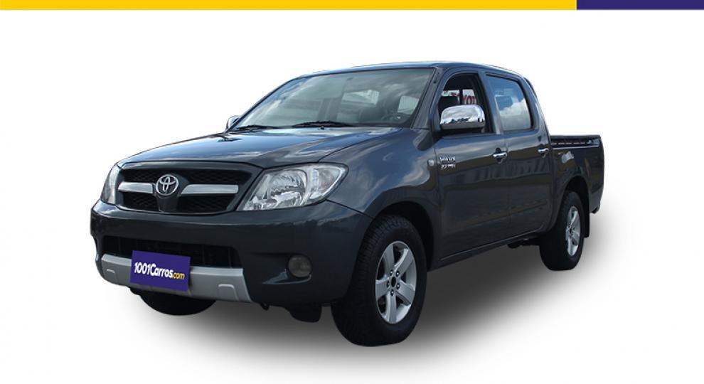 097116583 Toyota Hilux CD 4x2 2008 Camioneta Doble Cabina en Quito, Pichincha ...