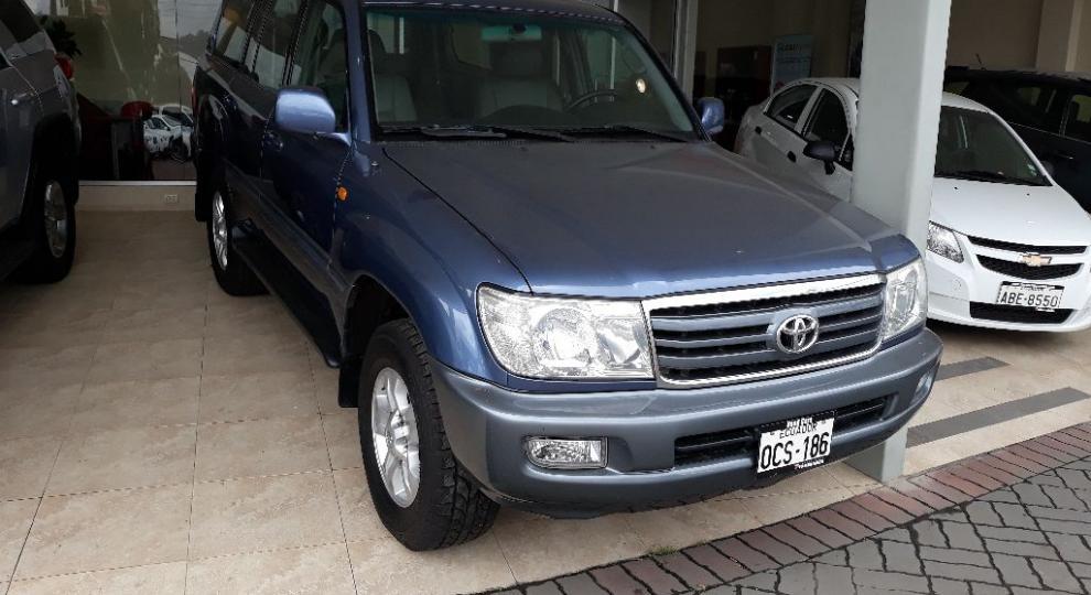Toyota Land Cruiser 100 2007 Todoterreno En Cuenca Azuay