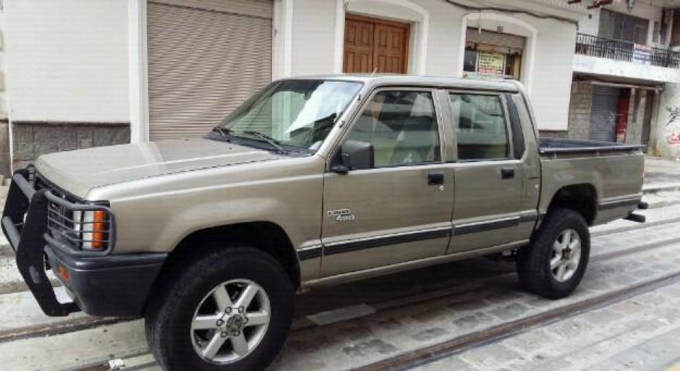 Mitsubishi l200 1998 camioneta doble cabina en cuenca azuay comprar usado en patiotuerca ecuador - Mitsubishi l200 doble cabina ...