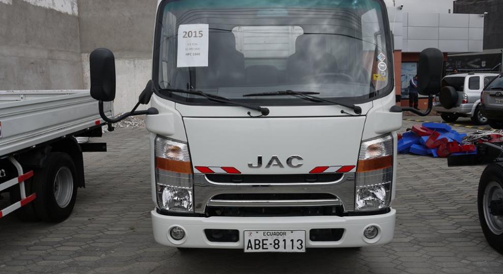 Jac Hfc 1040 2015 Cami 243 N Ligero 0 A 3 Ton En Cuenca