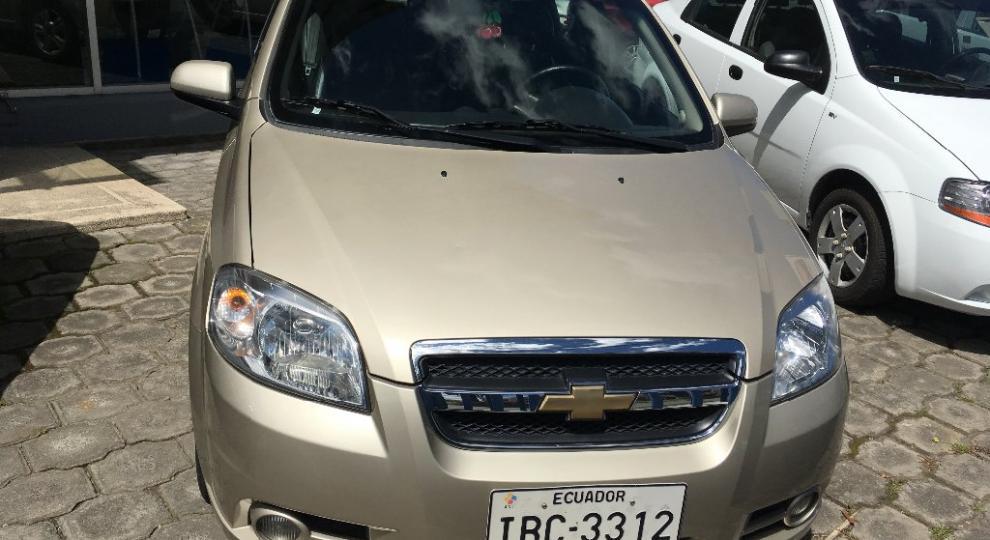 Chevrolet aveo emotion advance 2015 sed n en ibarra - Imbauto ibarra ...