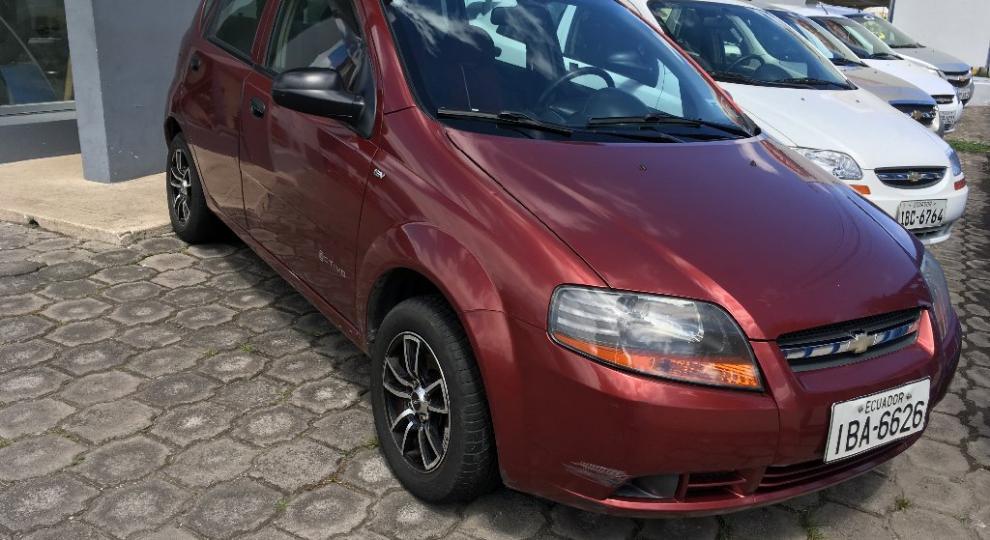 Chevrolet aveo activo 2011 hatchback 5 puertas en ibarra - Imbauto ibarra ...