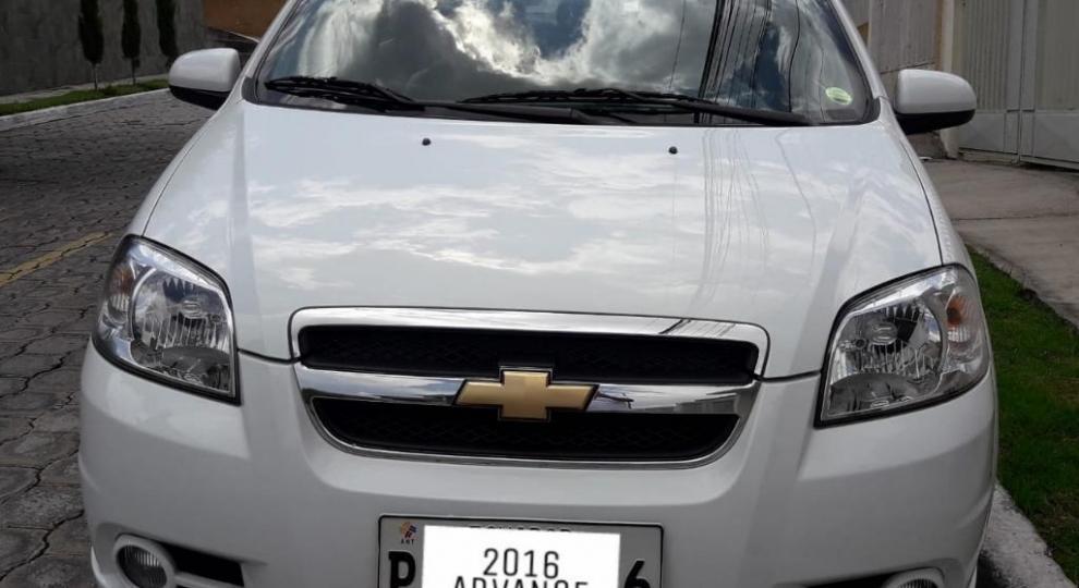 Chevrolet Aveo 2016 Sedn En Quito Pichincha Comprar Usado En