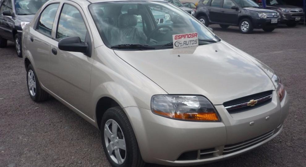 Chevrolet Aveo Family 2018 Sedn En Quito Pichincha Comprar Usado