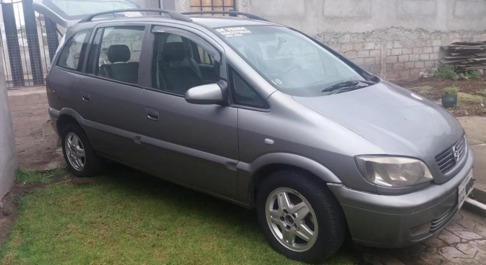 Chevrolet Zafira 2004 Mini Van Mpv En Ambato Tungurahua Comprar