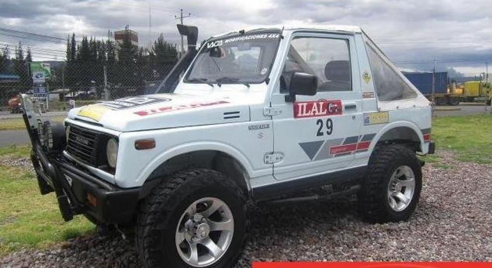 Suzuki Sj 413 1985 Todoterreno En Sangolqui Pichincha