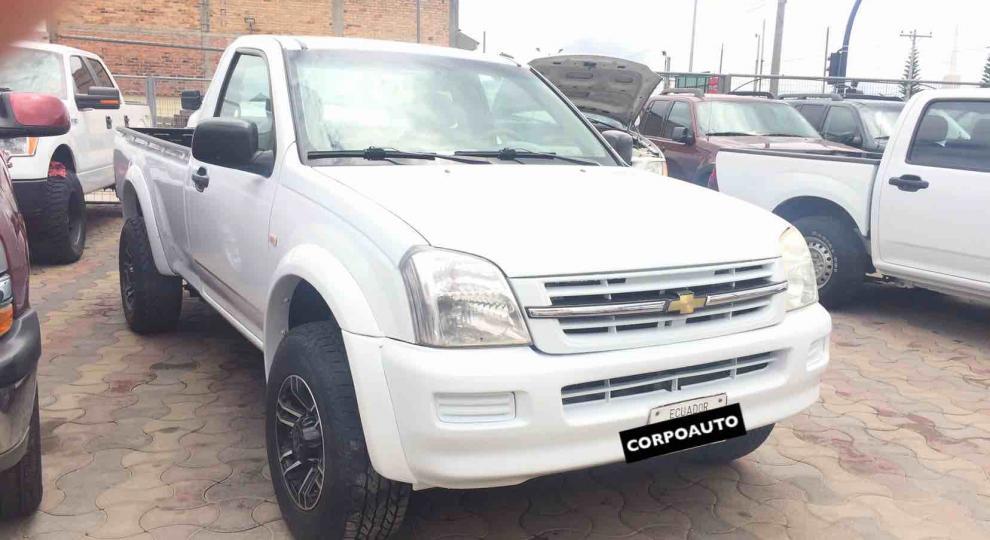 Chevrolet Luv Dmax Cs V6 4x4 2006 Camioneta Cabina Simple En Cuenca