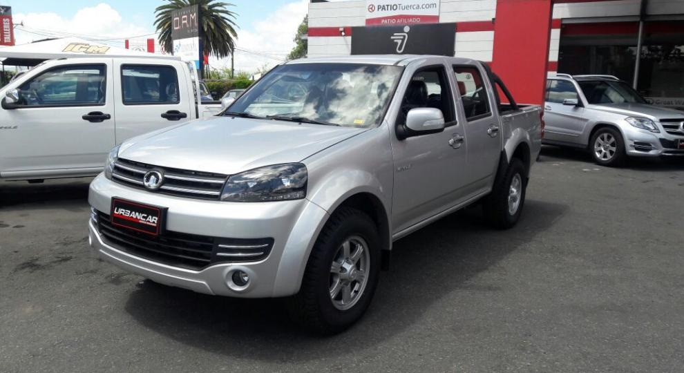 Great Wall Wingle 4x2 Gas CD Pick Up 2018 Camioneta Doble Cabina en ...