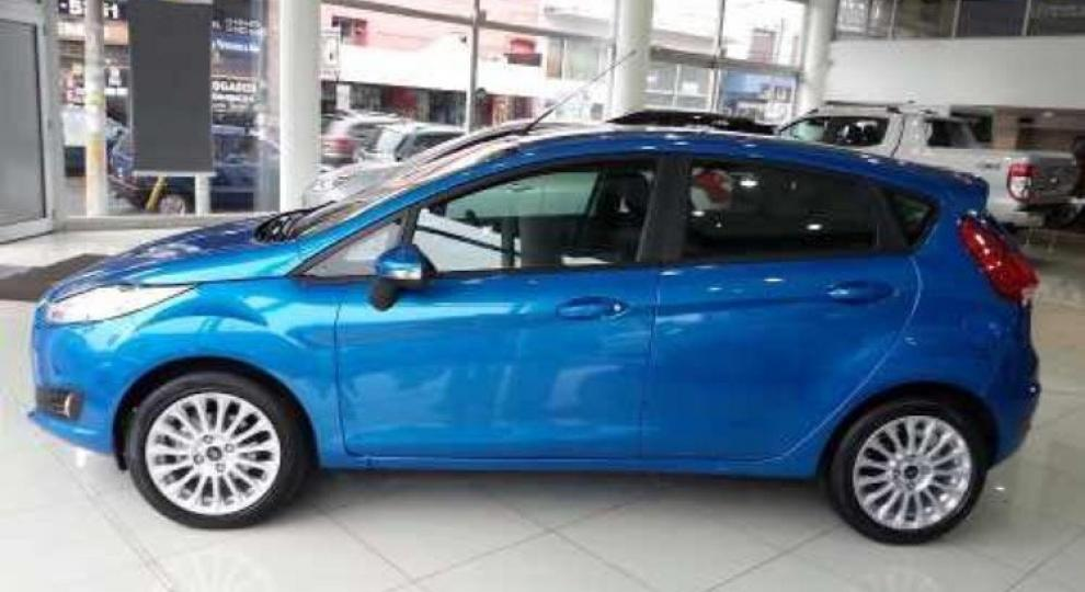 Ford Fiesta Kinetic 2017 San Cristóbal