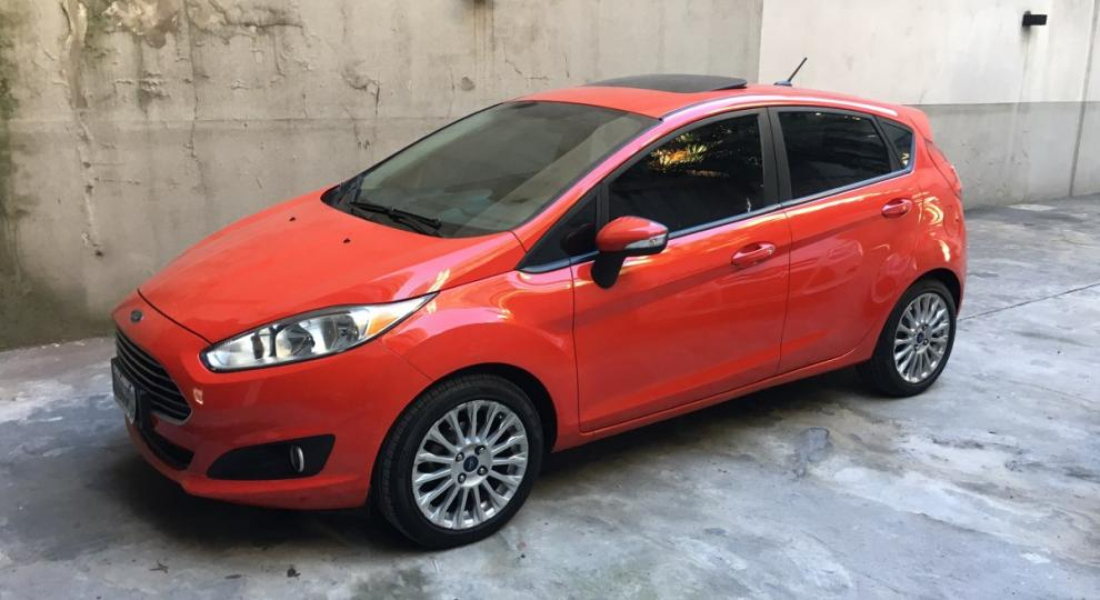 Ford Fiesta Kinetic 2013 Camioneta En Caballito  Capital Federal