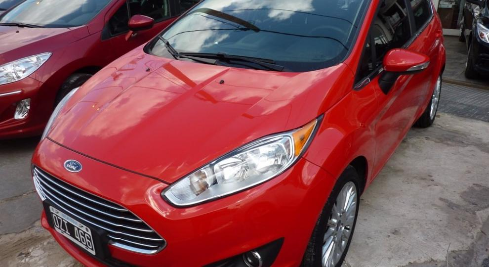 Ford Fiesta Kinetic 2015 Quilmes