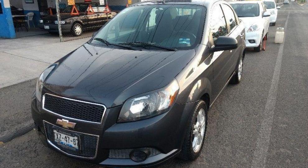 Chevrolet Aveo 2014 Sedn En Santiago Nuevo Len Comprar Usado En