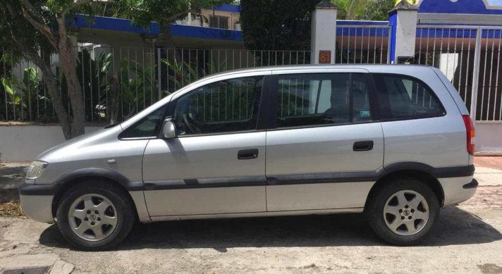 chevrolet zafira 2003 hatchback (5 puertas) en merida, yucatán