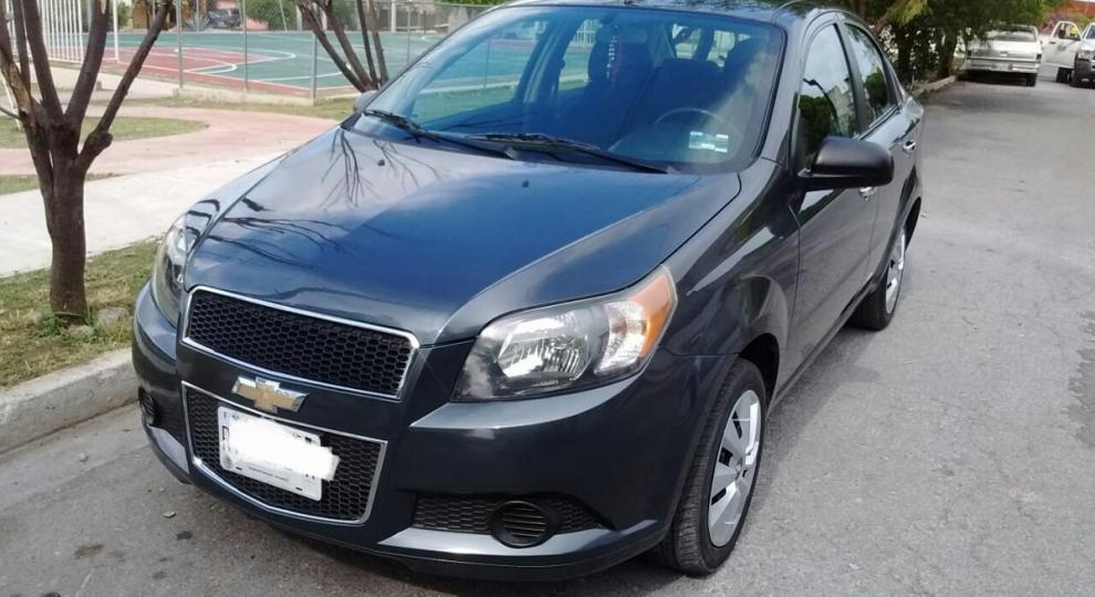 Chevrolet Aveo 2014 Pickup En Guadalupe Nuevo Len Comprar Usado En