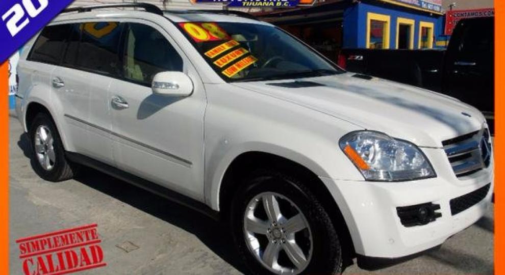 Mercedes benz clase gl 2008 camioneta suv en tijuana baja for Mercedes benz tijuana